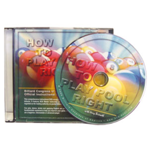 How to Play Pool Right DVD