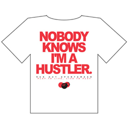 Not A Hustler Plain T-Shirt