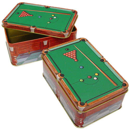 These Metal Chalk Holders Are Excellent For All Of Your Chalk Storing  Needs! The Design Is Of A Snooker Table. Each Container Holds 24 Pieces Of  Chalk.
