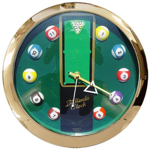 Pool Table Clock Cue Accessories Gameroom Accessories