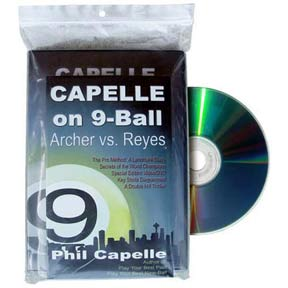 Capelle On 9-Ball: Archer vs Reyes, DVD and Book