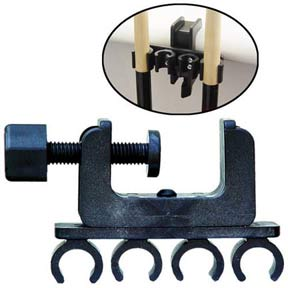 Porper 4 Cue Clamp Holder
