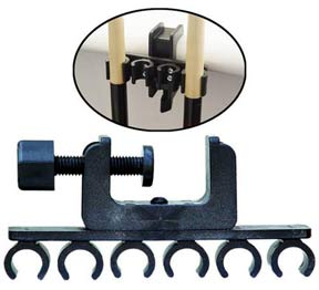 Porper 6 Cue Clamp Holder