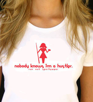 Girly Hustler Short Sleeve T-Shirt