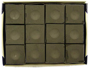 Silver Cup Chalk, Charcoal, 12 Piece Box