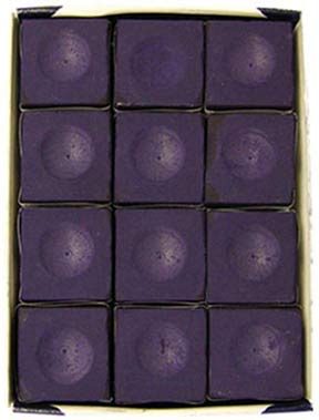 Silver Cup Chalk, Purple, 12 Piece Box