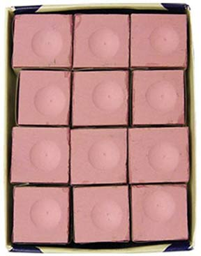 Silver Cup Chalk, Pink, 12 Piece Box