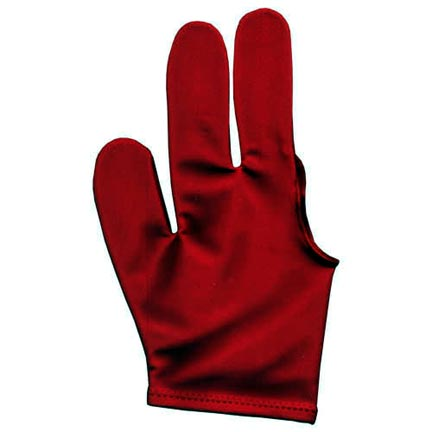 Billiard Glove, Red