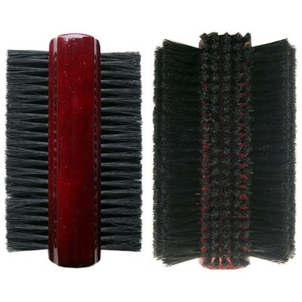 8-1/2&#34 Nylon Pool Table Tri-Brush