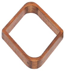 Sterling Deluxe 9-Ball Rack, Oak
