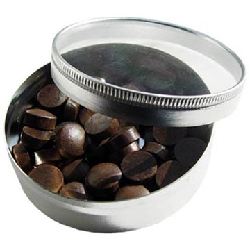 Sterling Cowhide Cue Tips, 13mm (Box of 50)