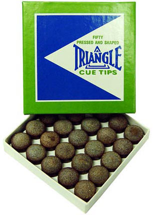 Triangle Tips, 13mm (Box of 50)